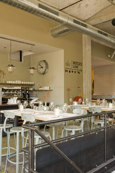 Restaurant Vicini, Rotterdam.
