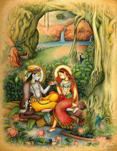 universo Radhe Krishna: almas gemelas? radha y krishna
