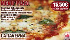 La Taverna   Menù Pizza http://affariok.blogspot.it/