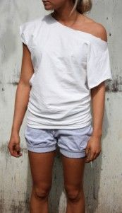 Tutorial: Easy to sew loose-fitted tee