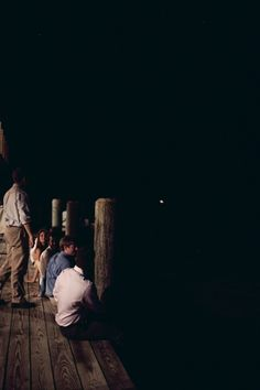 a lowcountry wedding - would love to have a dock at the reception :)