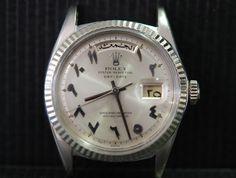 Rolex Arabic Day Date HINDI Numerals
