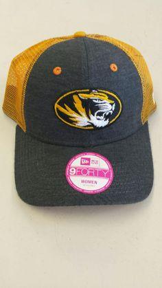 sale retailer fb22d f9b91 Missouri Tigers Ladies Adjustable 9FORTY Hat by New Era