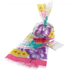 Butterfly Birthday Cello Bags (20), $2.20