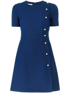 GUCCI A-line button dress. #gucci #cloth #dress
