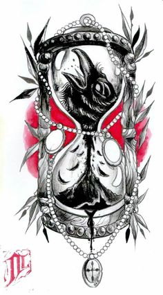 To embrace the fundamental foundation of existence, intelligently attuned men are utilizing life and death tattoos as a way to […] Hour Glass Tattoo Design, Clock Tattoo Design, Tattoo Design Drawings, Tattoo Sketches, Tattoo Designs, Time Tattoos, Body Art Tattoos, New Tattoos, Sleeve Tattoos
