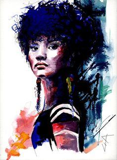 Young Princess Sam'  By Lia Despas