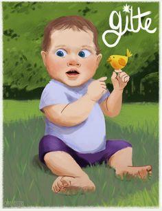 Digital Gouache Painting - chrisvosters.blogspot.com Gouache Painting, Cinderella, Disney Characters, Fictional Characters, Illustrations, Disney Princess, Digital, Drawings, Art