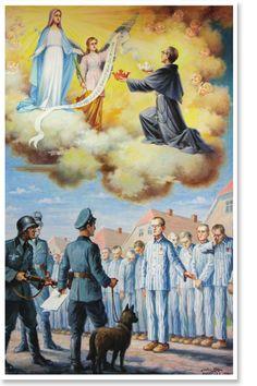 São Maximiliano Maria Kolbe, Saint Maximilian Maria Kolbe, Св. Максимилиан Мария Кольбе, 聖馬克西米利安·瑪麗亞·科爾貝, セントマクシミリアンマリアコルベ