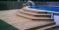 1000+ ideas about Pool Decks on Pinterest | Above Ground Pool ...