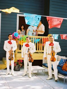 Mariachi Band - A staple at any fiesta! - 100 Layer Cake-let