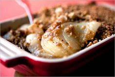 Pear Ginger Crumble (Gluten-Free) | 28 Fruit Desserts Easier Than Pie