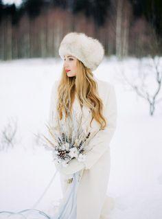 Narnia Inspired Winter Wedding Inspiration , winter wedding   Yaroslav and Jenny Photography   Read more on fabmood.com