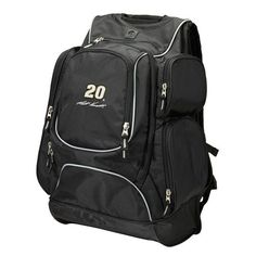 Matt Kenseth Antigua Executive Backpack - Black - $119.99