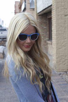 Light blonde hair... really pretty shade