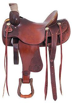 Will James Low Association bullhide covered wooden tree - Seat: 14 - 16 Piece Hard Seat seat) - Swell: 14 Hand to Wade Saddles, Roping Saddles, Horse Saddles, Western Saddles, Western Tack, Cowboy Gear, Cowboy Horse, Cowboy And Cowgirl, Horse Tack