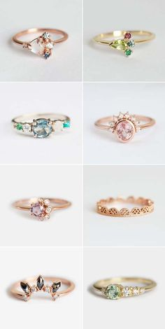 Gorgeous Alternative Engagement Rings You'll Want To Say Yes To