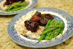 Hoisin and Beer Braised Beef Short Ribs