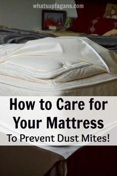 How to care for your Mattress so you can prevent dust mites. So important! I didn't know these things! Plus a $50 Giveaway! #ad