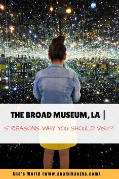 Planning to visit Los Angeles soon, check out our 5 reasons why The Broad Museum should be on your LA wishlist + Best tips to explore the museum fullest!  #TheBroadMuseum #LosAngeles #CityofAngels #Travel #Contemporaryartmuseum