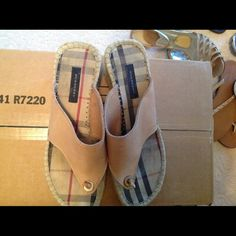 Burberry sandals Burberry Burberry Shoes Espadrilles