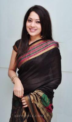 Anchor Ramya saree