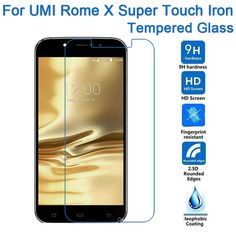 For UMI ROME X SUPER 9H 2.5D Tempered Glass Screen Protector Film For UMI touch iron Mobile Phone Front Guard pelicula de vidro