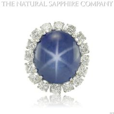 37.80ct Natural Untreated Blue Star Sapphire set in a Platinum Mounting with 5.00cts of diamonds (J3379) The Natural Sapphire Company,http://www.amazon.com/dp/B00EL01VIK/ref=cm_sw_r_pi_dp_TJLxtb1VGNDHQ070