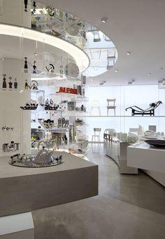 Tollman's Alessi flagship store at Project YOO, Tel-Aviv / Visual Concept and Design: Raphael Navot, Paris / Architect: David Lebenthal