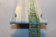 The Jewel Loom Ladder Bracelet by @Kendra Henseler Henseler Van Dellen Wiggins is absolutely stunning! She used bugle beads and it only took an hour to create! FABULOUS! @Beadalon