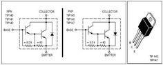 TIP 142-TIP 147 Pin Out Diagram