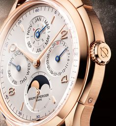 Baume and Mercier Clifton Perpetual Calendar Watch