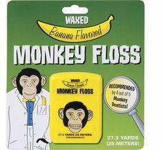 Banana Flavored Floss - This flavor wins top banana for creativity.  I heard  some people go bananas over this floss.