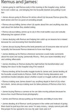 Remus and James part 1