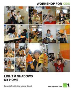 light & shadows  kids workshops school / BFIS