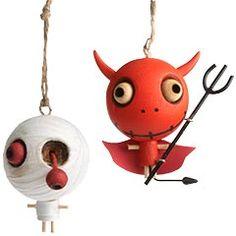 halloweenie! so cute, ornaments from pier one $4.95 each