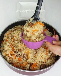 Bugün sicak y… – Pilav tarifi – Las recetas más prácticas y fáciles Easy Asian Recipes, Quick Recipes, Turkish Recipes, Ethnic Recipes, Iran Food, Good Food, Yummy Food, Salmon Dinner, Rice Dishes
