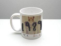 Taylor Swift  1989 album cover Mugshot print mug one and by muggue