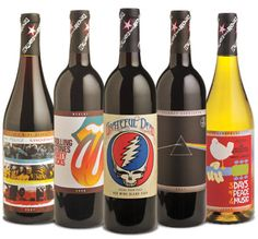 Wines that Rock! Customize your bottles in www.mibotella.es
