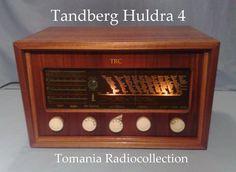 Tandberg Huldra 4 Section Model in Teak