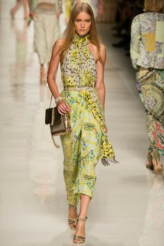 #MFW - Runway - #Etro Spring 2014 Ready-to-Wear Collection