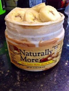 Ripped Recipes - Peanut Butter Banana Overnight Oats - Getting low on your peanut butter jar? Overnight Oats to the rescue! All of your sweet, savory, sticky favorites in one delicious  location!