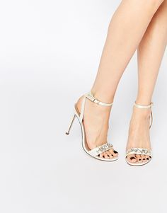 Image 1 ofASOS HIGH IN THE SKY Heeled Sandals