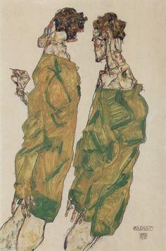 Egon Schiele: Devotion, 1911