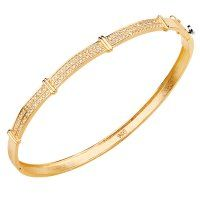 Bracelete Cravejado com Diamantes