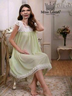 bba080cda6 13 Best MISS LINDA - Silk Elegance Nightgowns images
