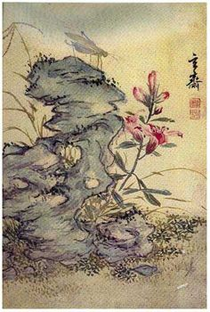 (Korea) 초충도 by Hyeonjae Shim Sa-jeong ca century CE. color on paper. Chinese Landscape Painting, Korean Painting, Landscape Paintings, Korean Art, Asian Art, Illustration Sketches, Art Sketches, Illustrations, Japanese Drawings