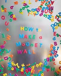 Wall DIY How to make a magnet wall for a kids room!How to make a magnet wall for a kids room! Diy Wand, Diy For Kids, Crafts For Kids, Diy Crafts, Mur Diy, Deco Kids, Diy Magnets, Magnetic Wall, Ideias Diy