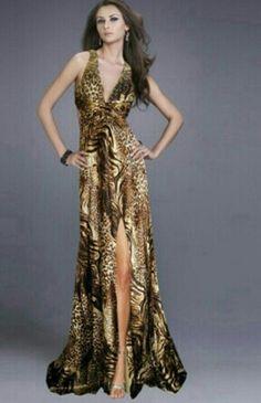 She's rocking that dress