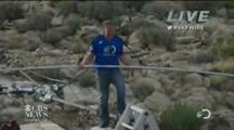 #Christian Tight Rope Stuntman Praises #Jesus Entire Way Over Grand Canyon   On Sunday June 23, 2013, Christian stuntman Nik #Wallenda walked across the Grand Canyon WITHOUT traditional safety gear. Instead, he used the only safety gear that matters...Jesus. :) Watch as he praises Jesus the entire way, giving Him all the glory!